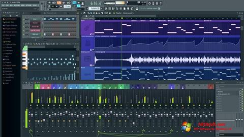 Captură de ecran FL Studio pentru Windows 10