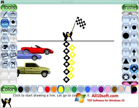 Captură de ecran Tux Paint pentru Windows 10