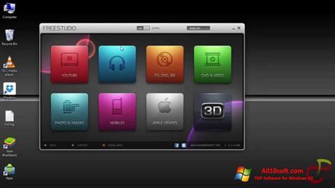 Captură de ecran Free Studio pentru Windows 10