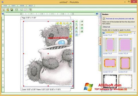Captură de ecran PhotoMix Collage pentru Windows 10