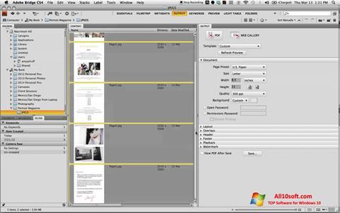 Captură de ecran PDF Combine pentru Windows 10