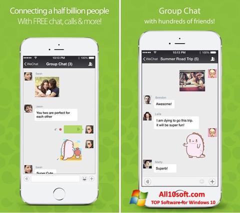 Captură de ecran WeChat pentru Windows 10