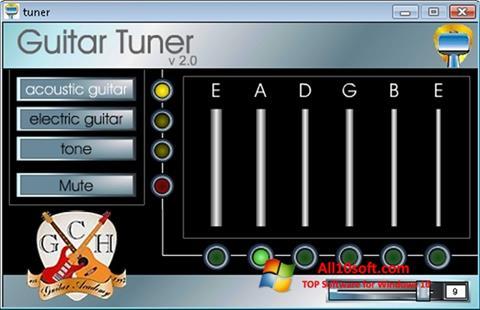 Captură de ecran Guitar Tuner pentru Windows 10
