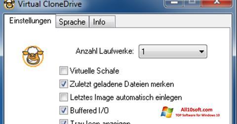 Captură de ecran Virtual CloneDrive pentru Windows 10