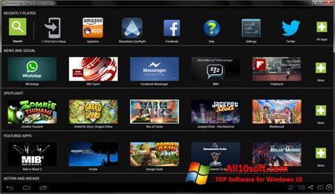 Captură de ecran BlueStacks pentru Windows 10