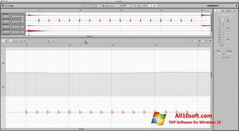 Captură de ecran Melodyne pentru Windows 10