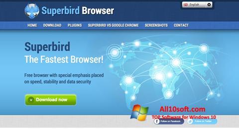 Captură de ecran Superbird pentru Windows 10