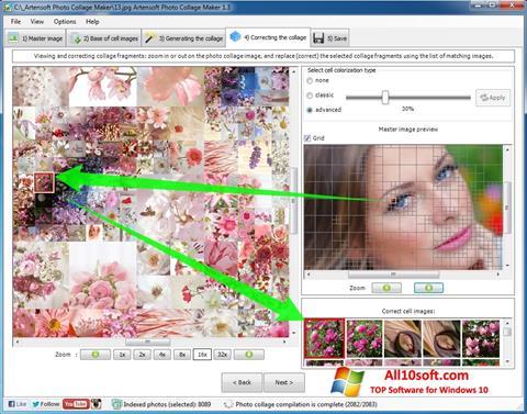 Captură de ecran Photo Collage Maker pentru Windows 10