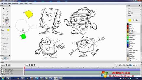 Captură de ecran Pencil pentru Windows 10